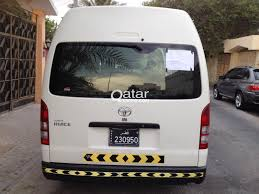 toyota hiace 2015 toyota hiace 15 seater van for sale qatar living