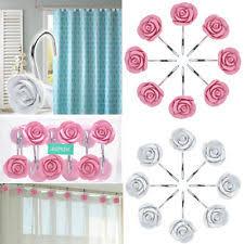 Decorative Home Decorative Shower Curtain Hooks Ebay