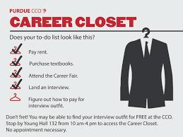 Purdue Resume Career Closet To The Rescue Purdue Cco Blog