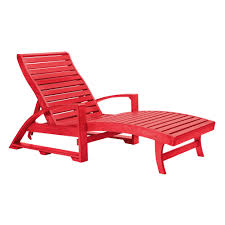 Chaise Lounge Chairs Outdoor Cr Plastics St Tropez Chaise Lounge W Wheels Cr Plastics