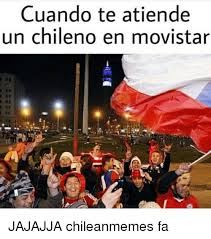 Chilean Memes - cuando te atiende un chileno en movistar jajajja chileanmemes fa