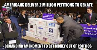 Get Money Meme - a coalition of groups united to get money out of politics made