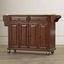 kitchen butcher block island on wheels hoangphaphaingoai info