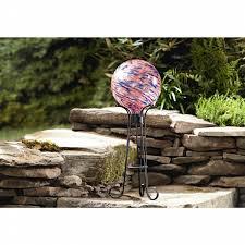 Garden Gazing Globe Essential Garden Glow In The Dark Gazing Ball Red Shop Your