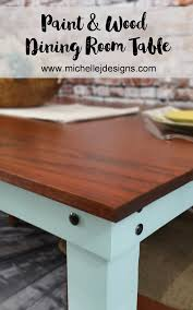 Make A Dining Room Table by How To Make A Diy Dining Table As Pretty As All That You Will