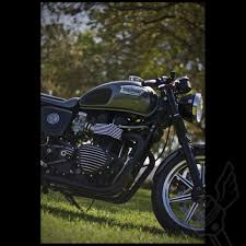 raw speed merchant finned stator cover for modern triumph twins