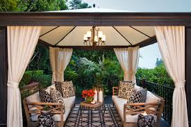 gazebo curtains houzz