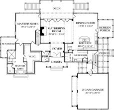 craftsman style house plan 4 beds 3 50 baths 4353 sq ft plan 453 19