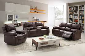 Contemporary Reclining Sofa With Topstitch by Reclining Living Room Sets You U0027ll Love