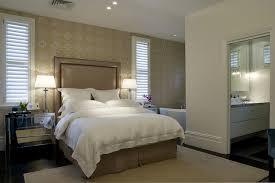Bedroom Taupe Taupe Headboard Transitional Bedroom Denai Kulcsar Interiors