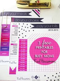 free printable mom planner 2015 free printables for busy moms
