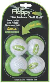 amazon com the floppy indoor practice golf ball 3 pack of balls
