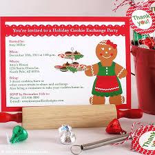 cookie exchange invitation templates eliolera