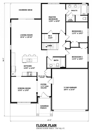 waterfront cottage floor plans waterfront bungalow house plan dashing ontarioplan 0001 850 1215