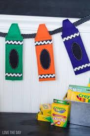 Preschool Halloween Decorations Best 10 Crayon Decorations Ideas On Pinterest Red Crayon Diy
