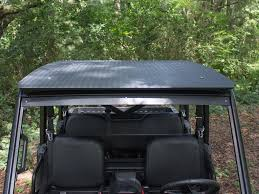 polaris ranger mk1 aluminum one piece roof ranger xp570 and 900 crew cab u2013 deep