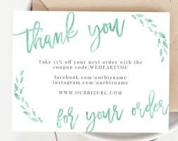 online thank you cards instant business thank you cards editable pdf printable