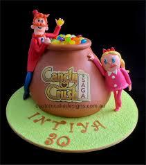 candy birthday cake ideas facebook candy crush birthday cake by