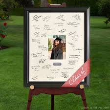 wedding autograph frame personalized graduation party signature frame