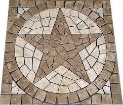 star mosaic medallions