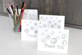 printable thank you card coloring sheets the crazy craft lady