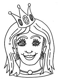 coloriage masque de princesse img 9185