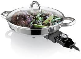 recipient inox cuisine taurus skillet stainless steel 1350w inox skillet raru