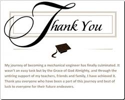 graduation thank you cards thanking parents at graduation sle graduation thank you card