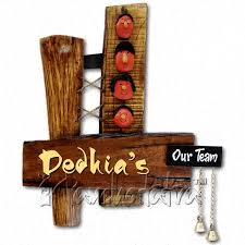 Buy Handmade Name Plate Design For Family Of  Members Online In - Name plate designs for home