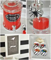 spooky halloween recipes blood brew punch and salted caramel