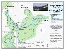 Map Of Leavenworth Wa Inland Northeast Southeast Washington State Parks And
