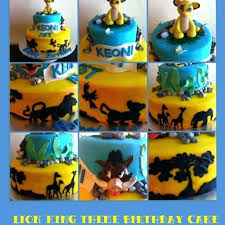 lion king cake toppers lion king birthday cake toppers cakes birthday party planner for you