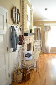 quick front entryway makeover vintage nest