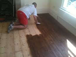 filling wood floor gaps floor staining and gap filling