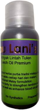 the jamu shop leech oil to strengthen and enlarge the penis