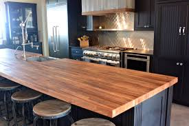 countertops awsome designs chestnut kitchen island tops