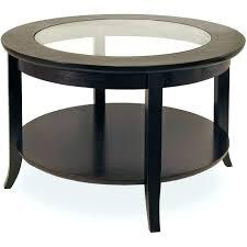 glass top display coffee table dark wood end tables round wood end table round wood coffee table