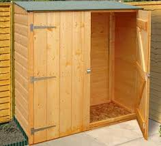 lovely small wood storage shed 92 with additional small storage