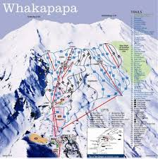 Colorado Ski Resort Map by Whakapapa Trail Map Liftopia