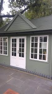 painting a summer house in chigwell essex painting