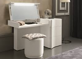 Glossy White Bedroom Furniture Bedroom Furniture White Wooden Glossy Dressing Table With Mirror