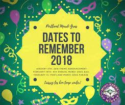 mardi gras 2018 mardi gras season mardi gras in portland or