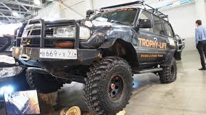 land cruiser lift kit toyota land cruiser 80 offroad tuning moscow offroad show 2015