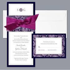goes wedding best formal wedding invitation design with ribbon