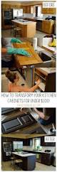 Rustoleum Paint For Kitchen Cabinets Best 25 Cabinet Transformations Ideas On Pinterest Refinished