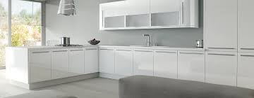 white acrylic kitchen doors high gloss kitchen warehouse uk