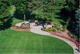 patio landscaping designs large front yard landscaping ideas