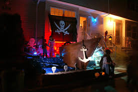 halloween outdoor halloween pirate ship