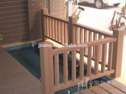 resist sunshine rainwater riverside outdoor handrails railing