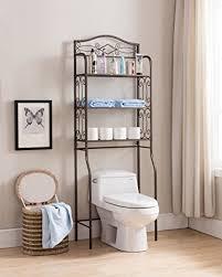 Bathroom Over The Toilet Storage by Amazon Com Kings Brand Over The Toilet Storage Etagere Bathroom